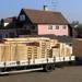 Exportverpackung von Waren